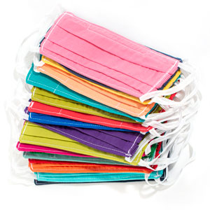 Colorful Cotton Face Masks