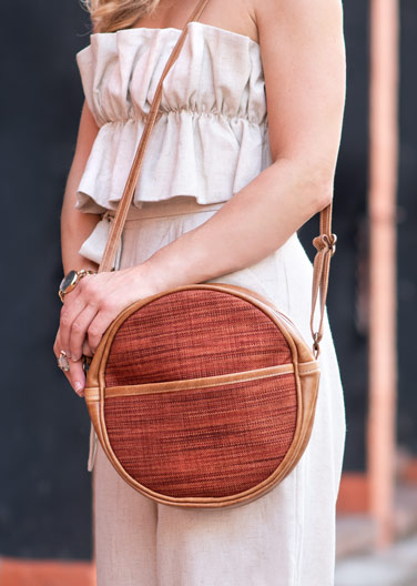 Handcrafted bags, baby blankets, and more -- all made in the