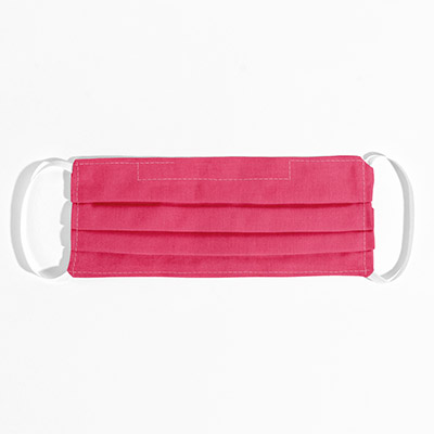 Cotton Face Mask - magenta