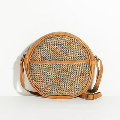 Monaco Circle Bag - blurred lines
