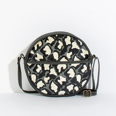 Monaco Circle Bag - evening leopard