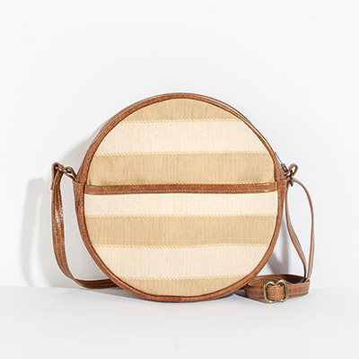Monaco Circle Bag - nashville stripe