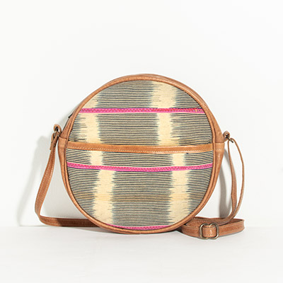 Monaco Circle Bag - navajo tribal