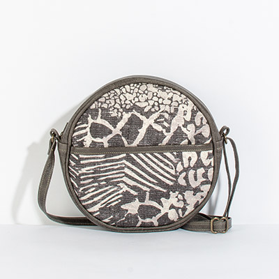Monaco Circle Bag - mixed safari