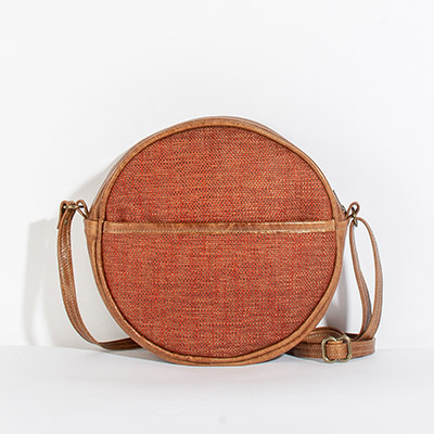 Monaco Circle Bag - scarlet rose