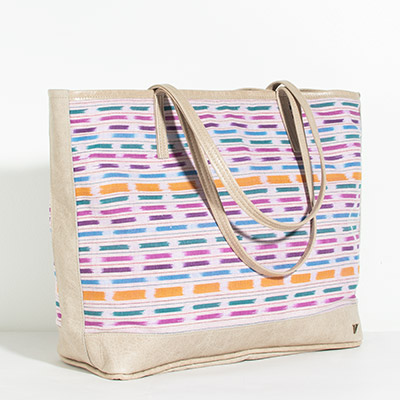 Vienna Tote - painted jewel
