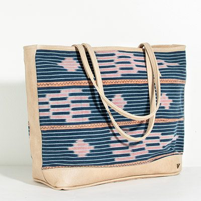 Vienna Tote - rose tribal