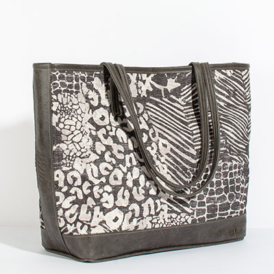 Vienna Tote - mixed safari
