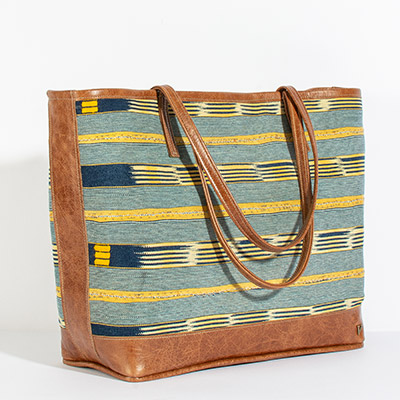 Vienna Tote - sunflower tribal
