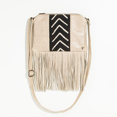 Florence Crossbody Clutch - lanfini mudcloth