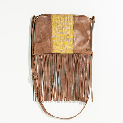 Florence Crossbody Clutch - mary gold