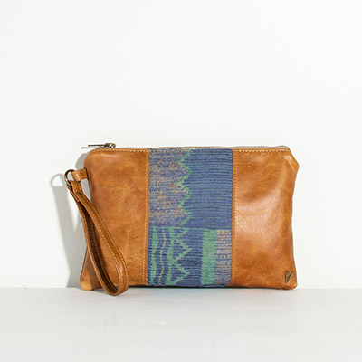 Newport Clutch - earthy lines