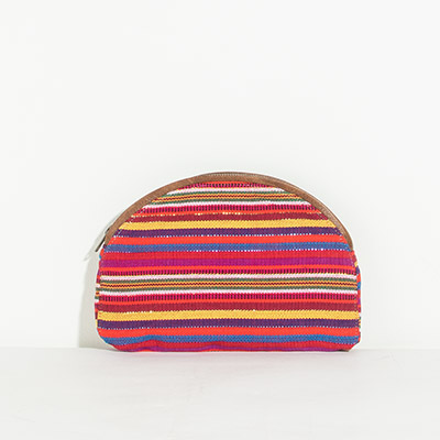 Cabo Clutch - fairy stripe
