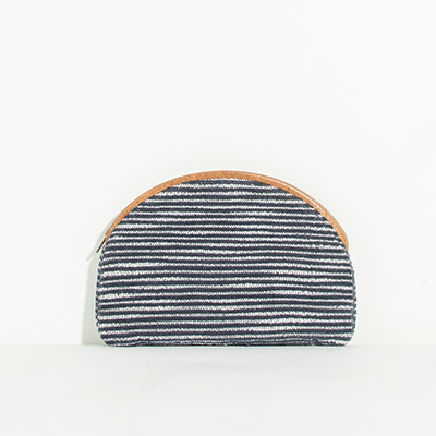 Cabo Clutch - navy lines