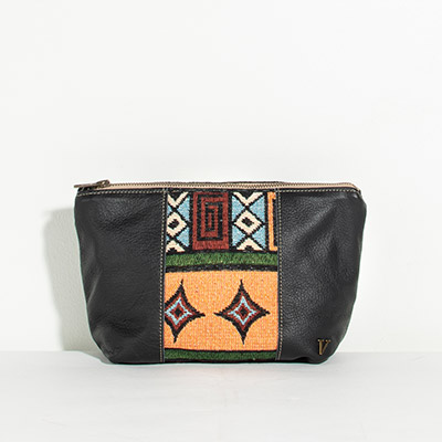 Ibiza Cosmetc Bag - multi color geo