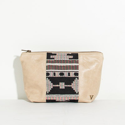 Ibiza Cosmetc Bag - abstract rainbow
