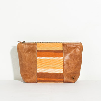 Ibiza Cosmetc Bag - sun kissed stripes