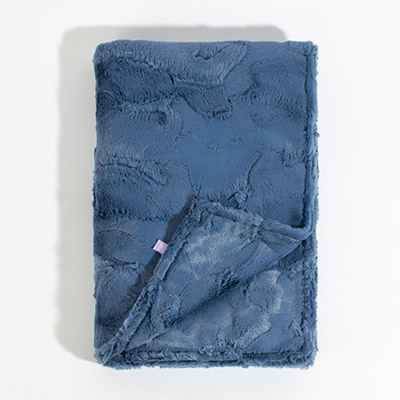 Luxe Throw Blanket - bluejean