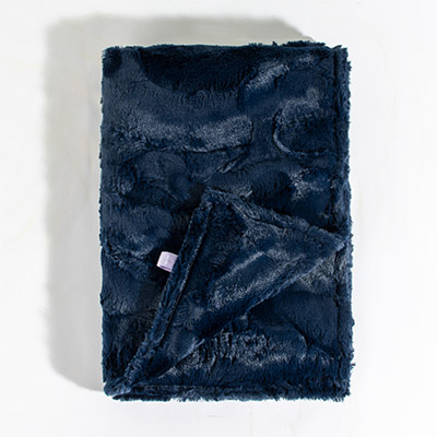 Dreamy Baby Blanket - crushed navy