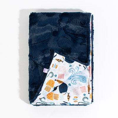 Dreamy Baby Blanket - sea splash
