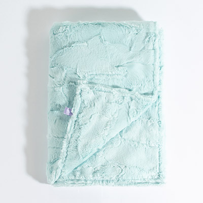 Dreamy Baby Blanket - sea glass
