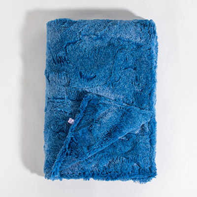 Dreamy Kids Blanket - crushed blueberry