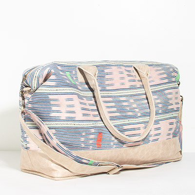 Tuscany Weekender - blush tribal