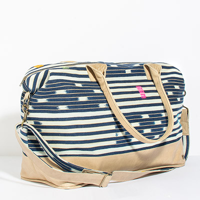 Tuscany Weekender - natural tribal