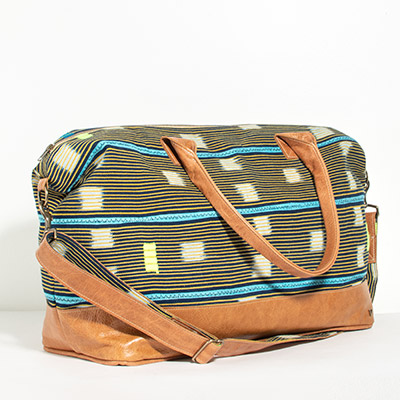 Tuscany Weekender - pineapple tribal