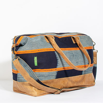 Tuscany Weekender - papaya tribal