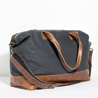Tuscany Weekender - storm linen