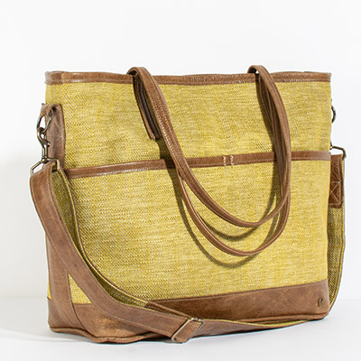 Montauk Diaper Bag - mary gold