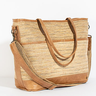 Montauk Diaper Bag - navajo neutral