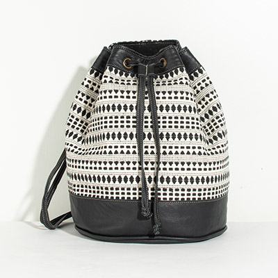 Bristol Backpack - abstract checkers