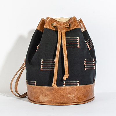 Bristol Backpack - black arrows