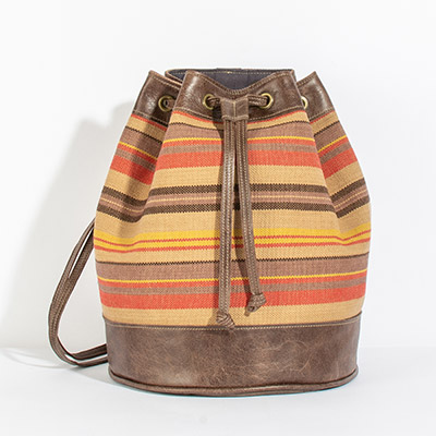 Bristol Backpack - harvest stripe