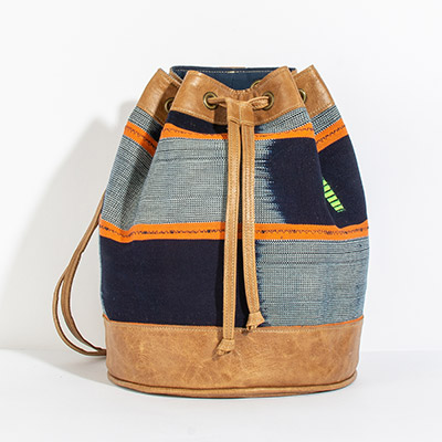 Bristol Backpack - papaya tribal