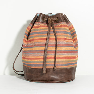 Bristol Backpack - rainbow lines