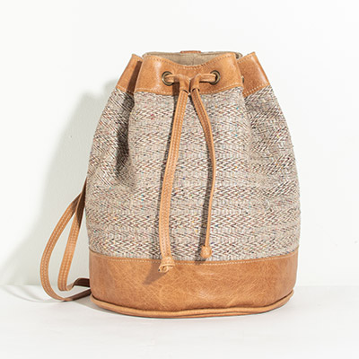 Bristol Backpack - rainbow latte