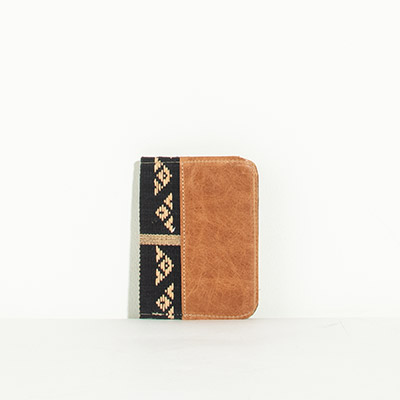 Grenada Passport Case - black aztec