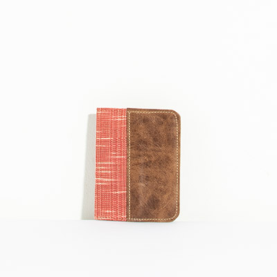 Grenada Passport Case - blurred paprika