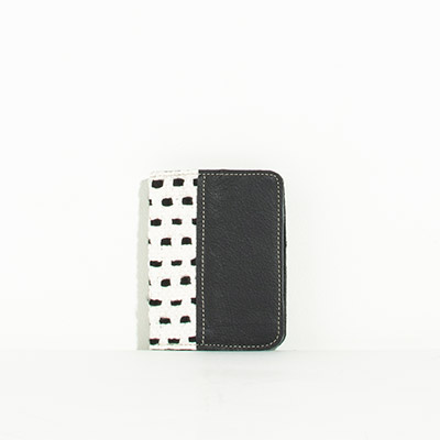 Grenada Passport Case - checkered lines