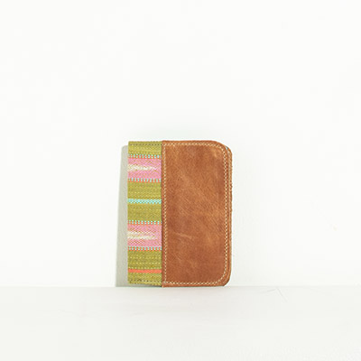 Grenada Passport Case - olive stripes