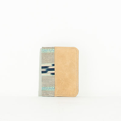 Grenada Passport Case - sandy tribal