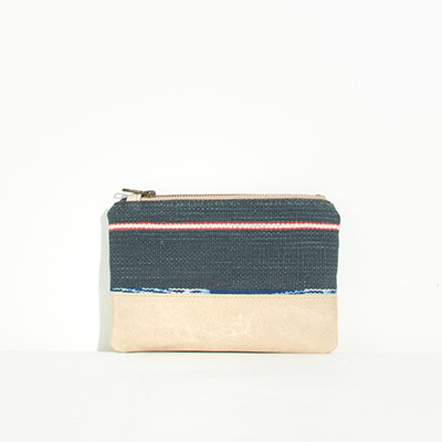Tybee Pouch - freedom stripes
