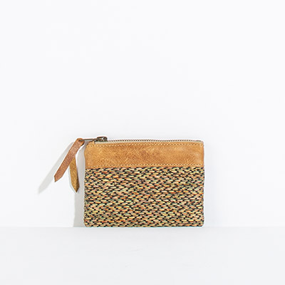 Corsica Coin Pouch - blurred lines