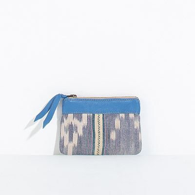 Corsica Coin Pouch - lilac tribal